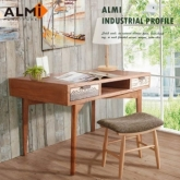 【ALMI】DOCKER VINTAGE-DESK 2 DRAWERS 雙抽書桌
