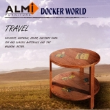 【ALMI】DOCKER WORLD- SMALL ROUND TABLE 圓形茶桌